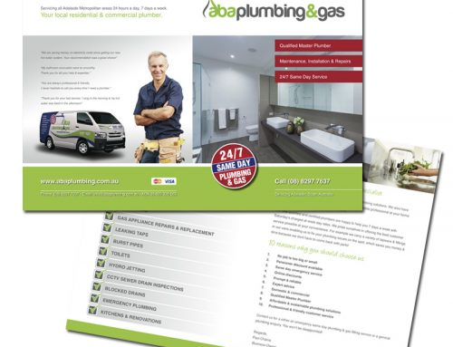 A3 Promotional Brochure
