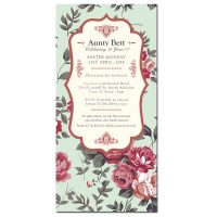 Auntie Bett Birthday Invitation