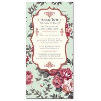 Auntie Bett Birthday Invitation